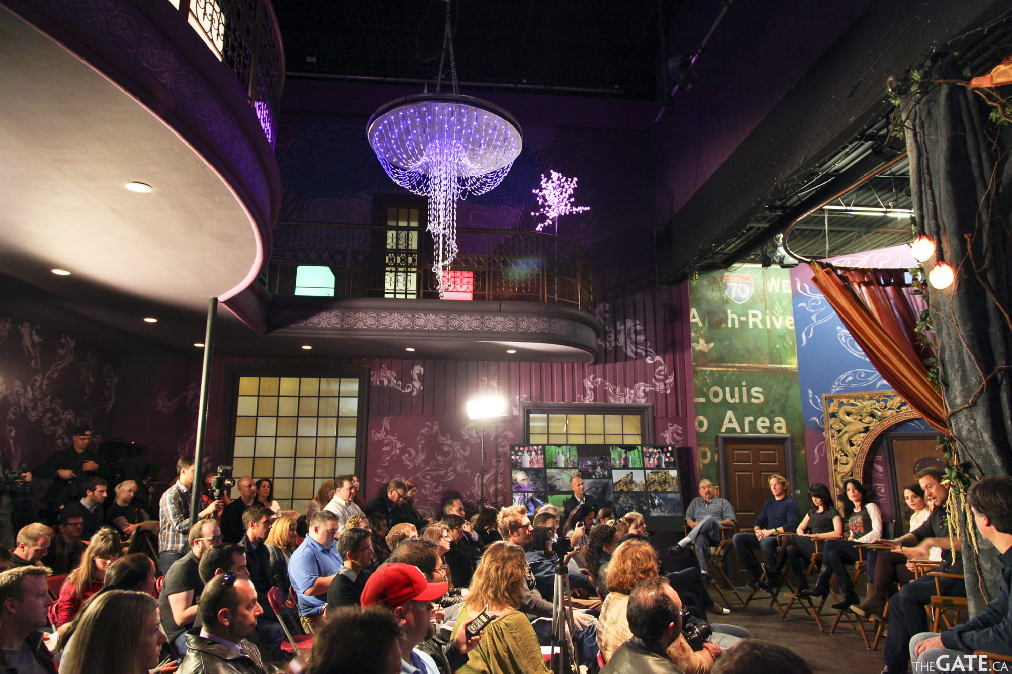 SyFy Digital Press in the NeedWant Lounge