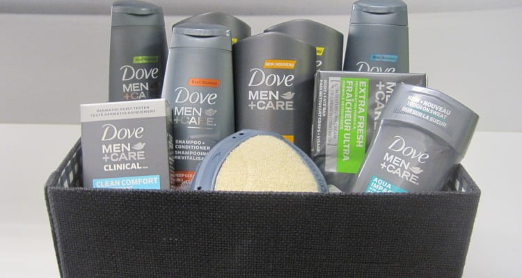 Dove Men+Care gift basket
