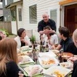 Dinner with Kara's family