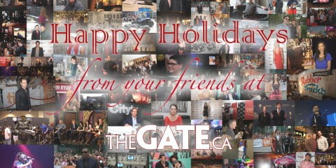 Happy Holidays from The GATE