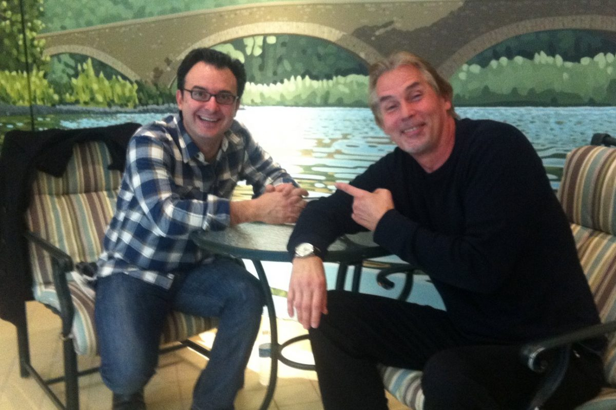 John Catucci and Christopher Heard