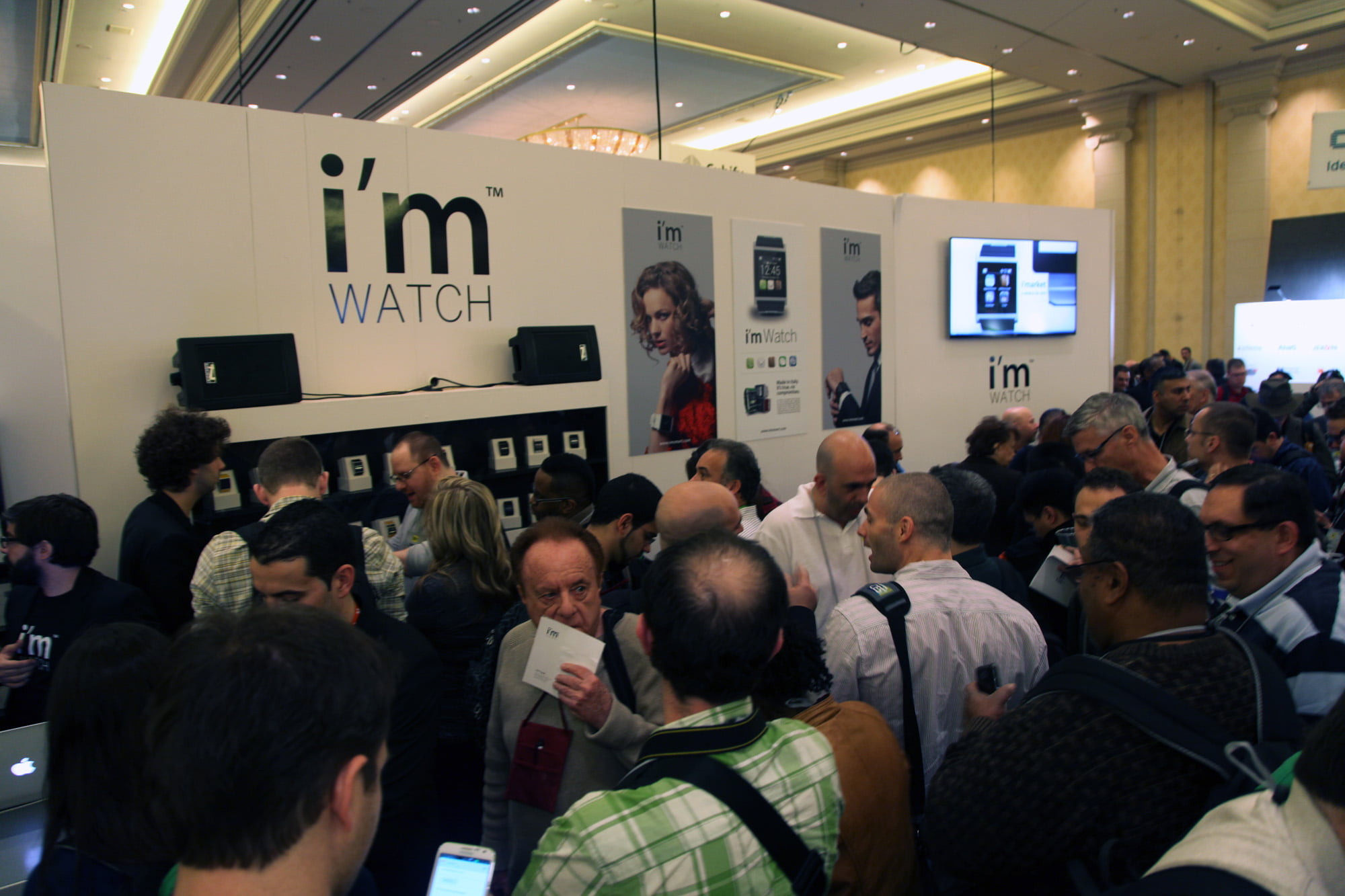 I'm Watch booth