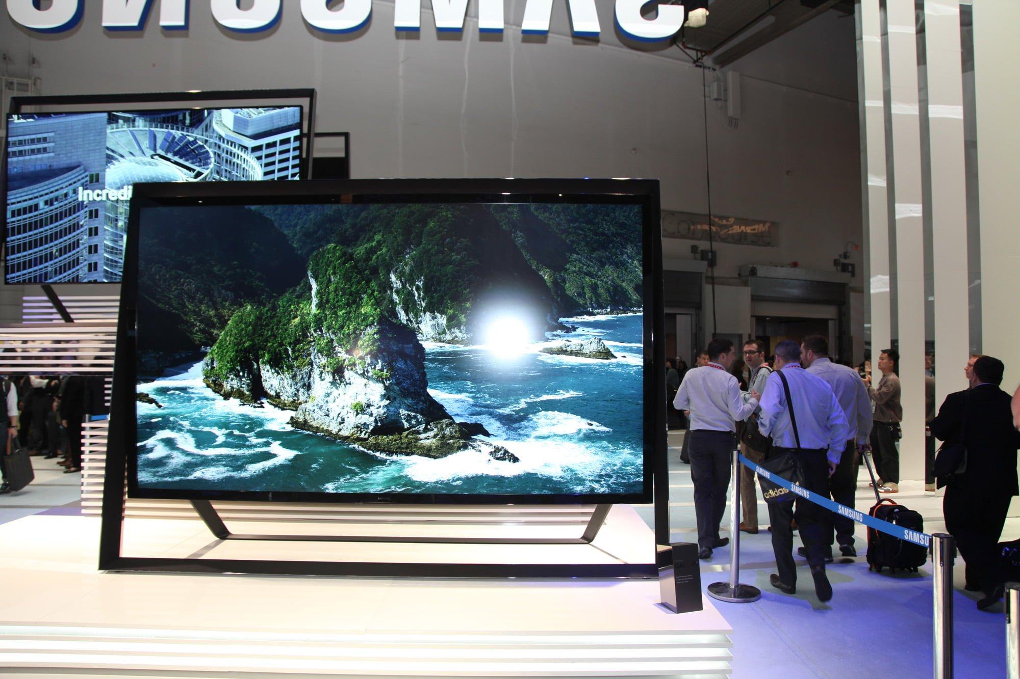 "Samsung's 110"" television"