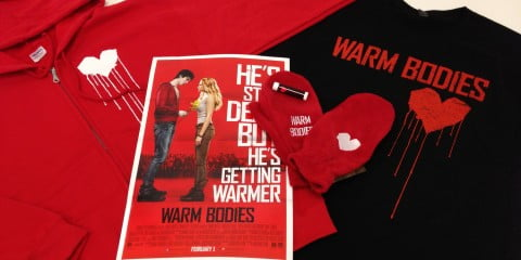 Warm Bodies prize pack