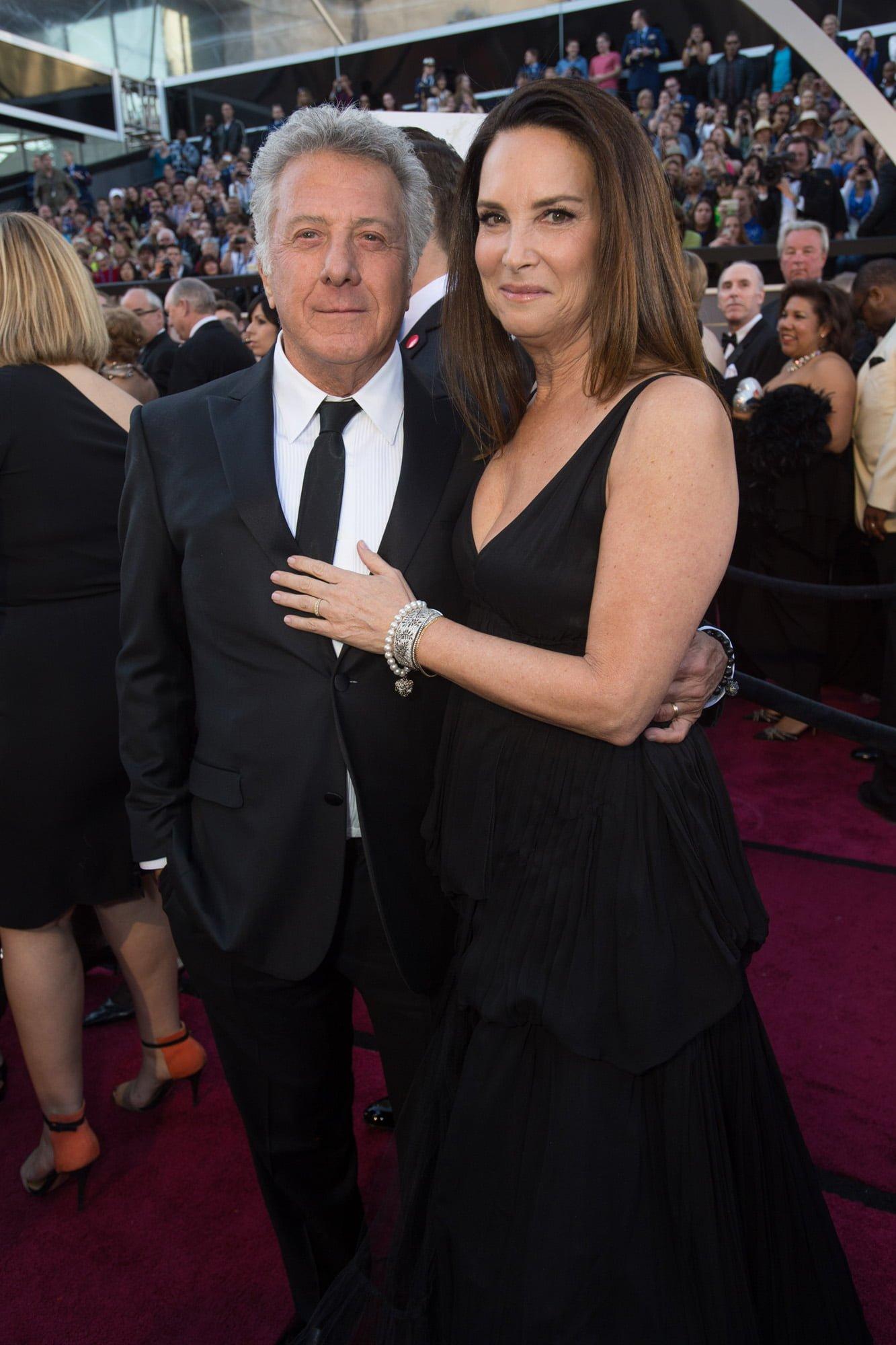 Dustin Hoffman & Lisa Hoffman