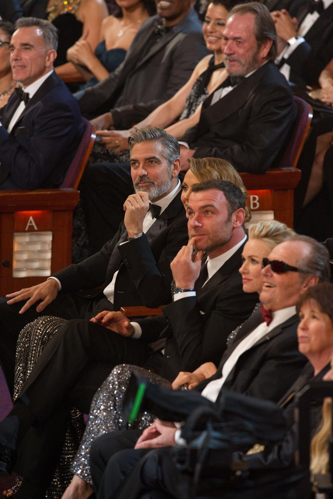 George Clooney, Liev Schreiber