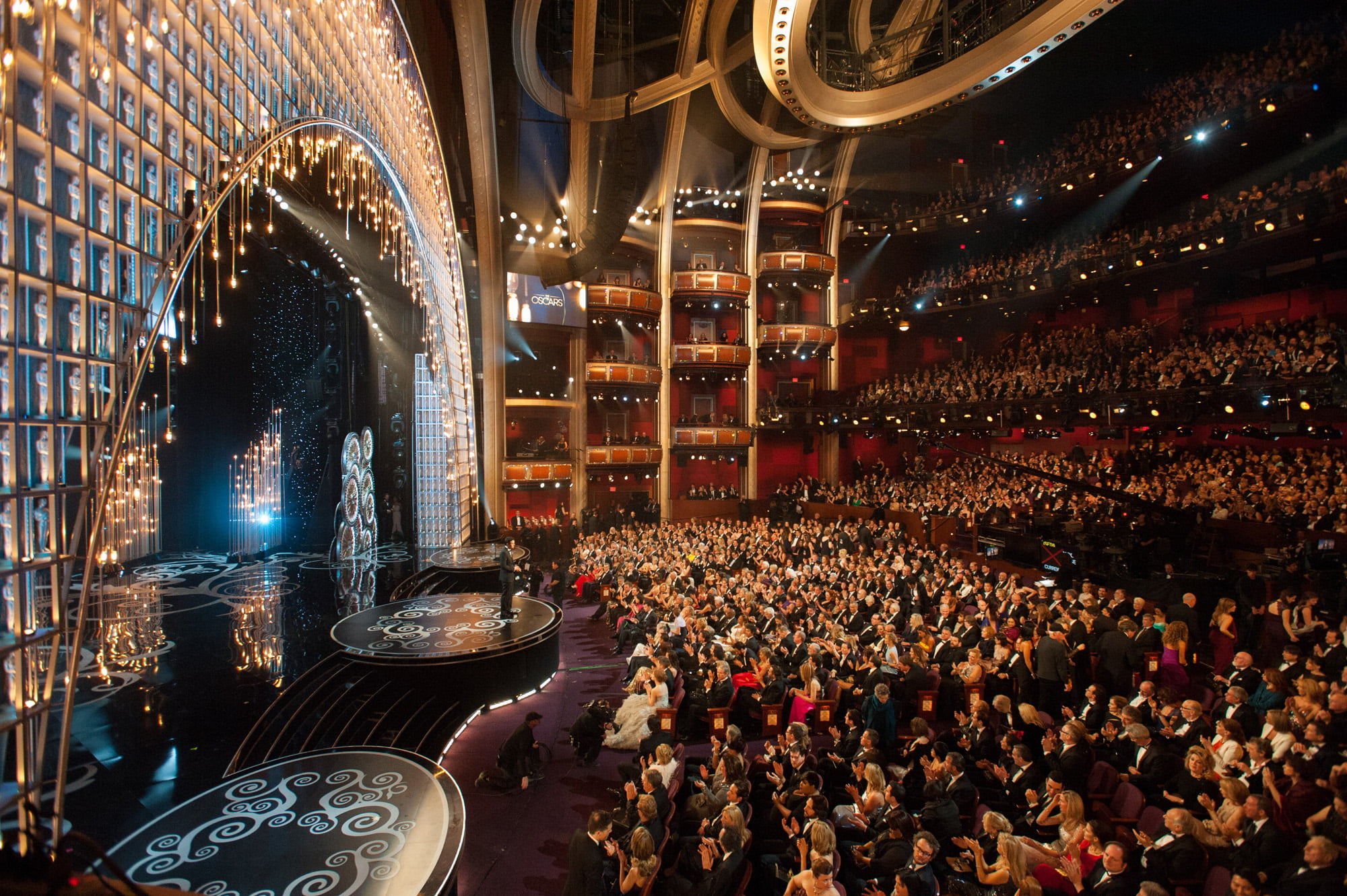 Inside the Dolby Theatre