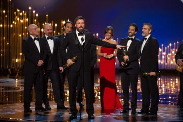 Ben Affleck and the Argo producers