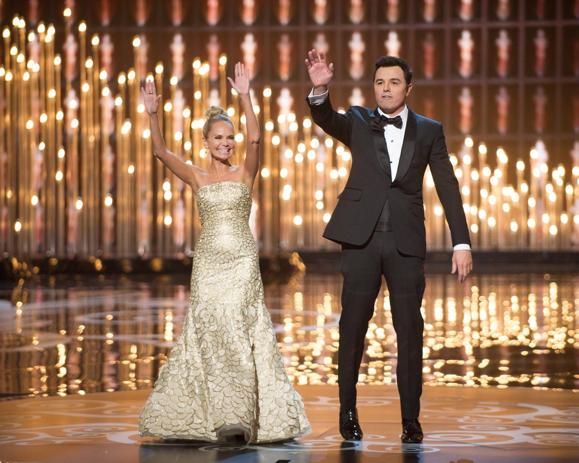 Kristin Chenoweth and Seth MacFarlane