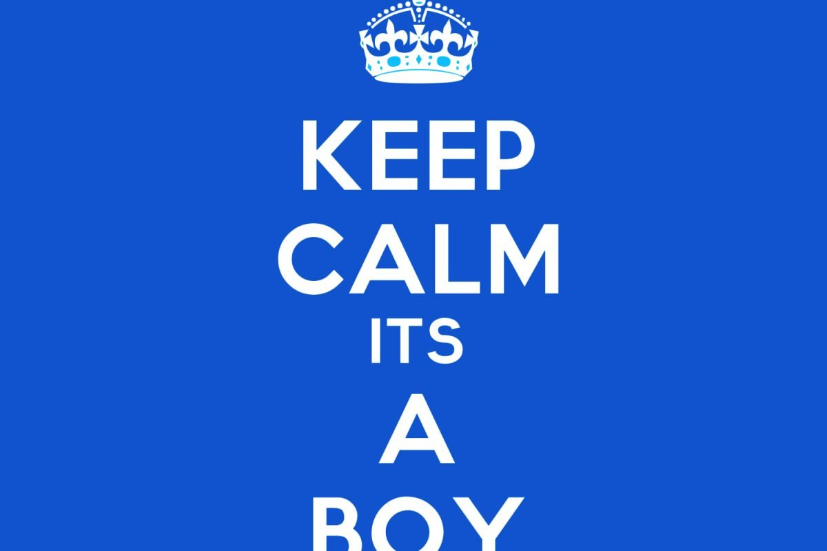 Keep Calm It's A Boy