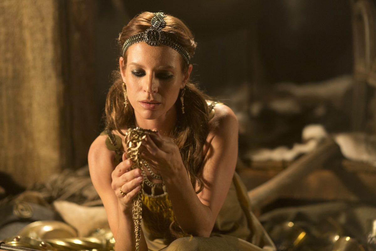 Jessalyn Gilsig as Siggy in Vikings