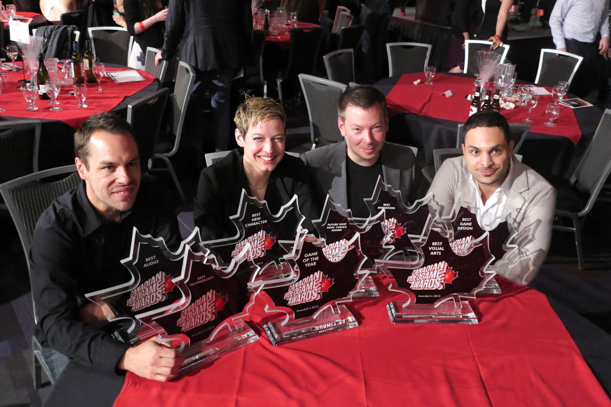 Ubisoft with eight awards at the 2013 CVAs