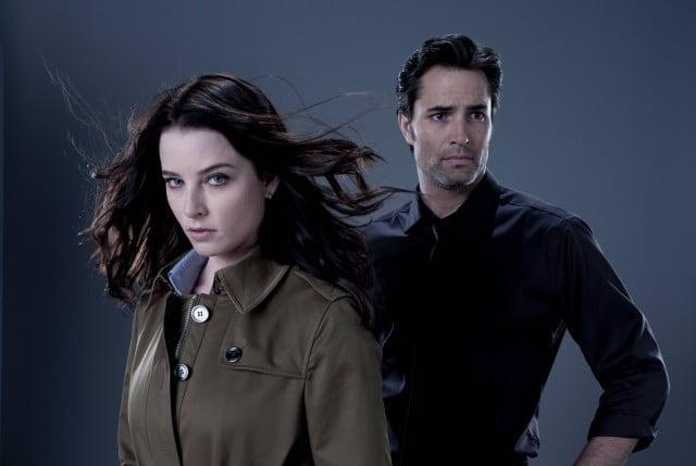 Rachel Nichols as Kiera Cameron and Victor Webster as Carlos Fonnegra