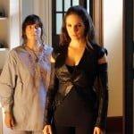 Inga Cadranel as Aife and Anna Silk as Bo