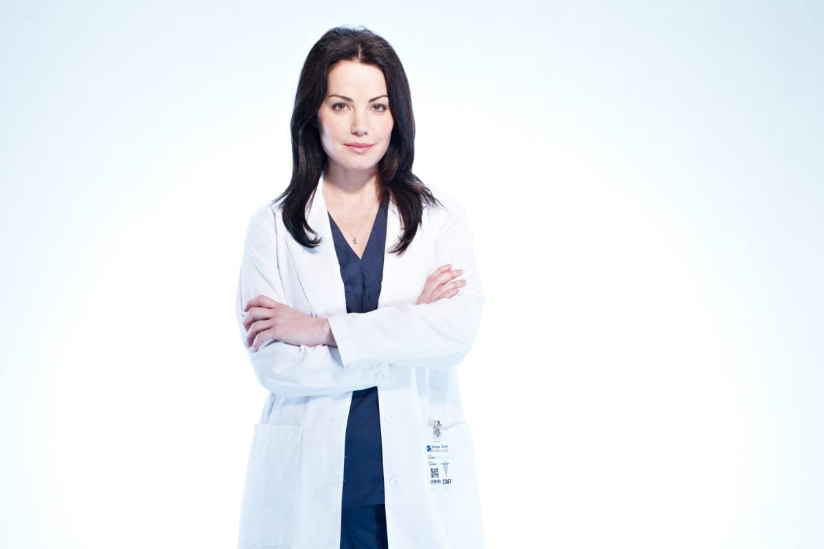 Erica Durance in Saving Hope