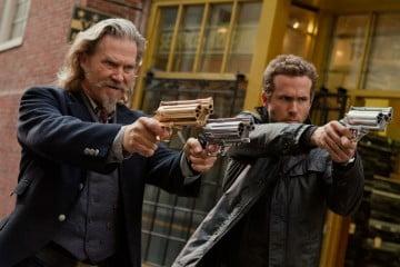 Jeff Bridges and Ryan Reynolds in R.I.P.D.