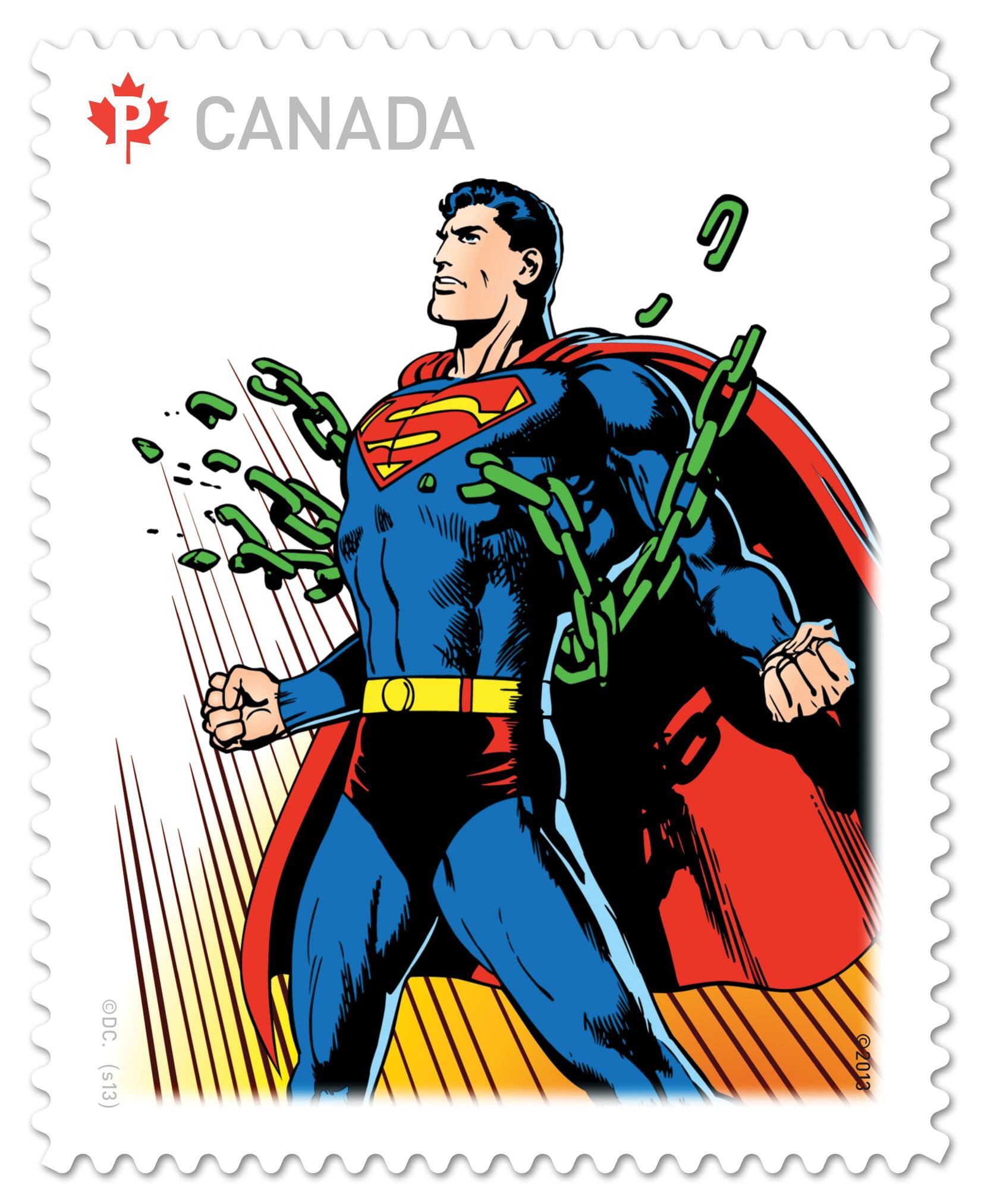 Superman Stamp 3