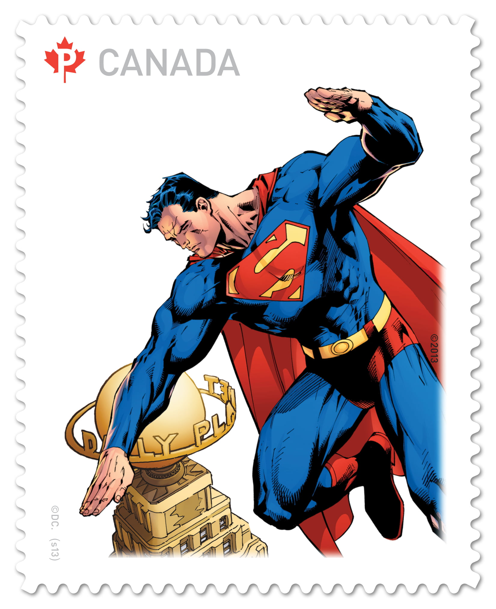 Superman Stamp 4