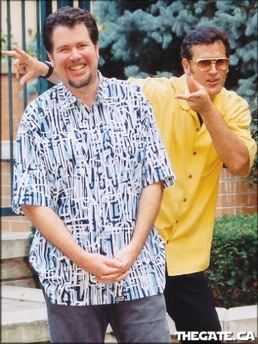 Don Coscarelli and Bruce Campbell