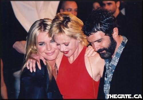 Rebecca Romijn-Stamos, Melanie Griffith & Antonio Banderas