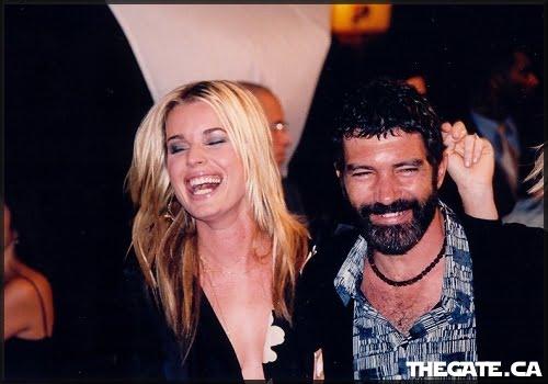 Rebecca Romijn-Stamos & Antonio Banderas