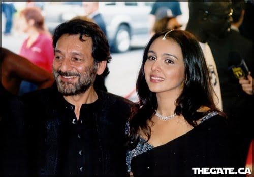 Shekhar Kapur & Suchitra Krishnamurti