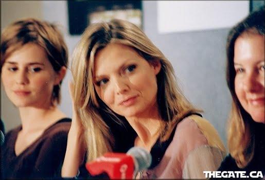 Alison Lohman, Michelle Pfeiffer & Janet Fitch