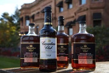Canadian Club whiskies