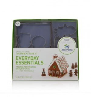 Everyday Essentials Habitat for Humanity Gingerbread House Kit