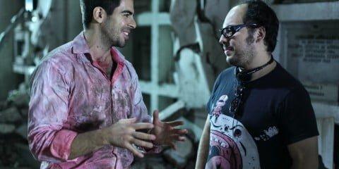 Eli Roth and Nicolás López