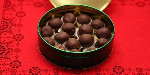 Chocolate Dipped Truffles