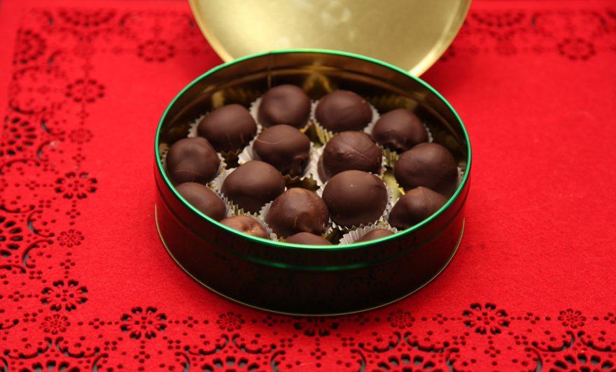 Chocolate Dipped Truffles