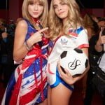 Taylor Swift and Cara Delevigne