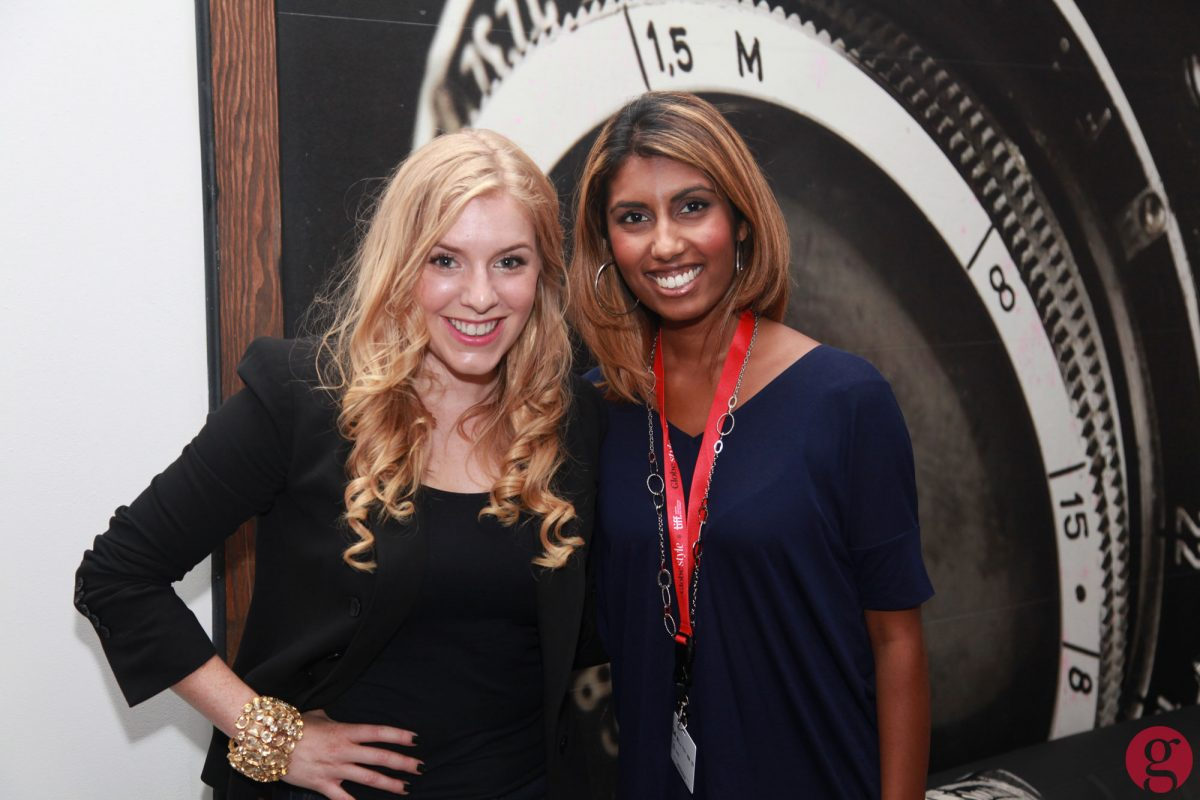 Kaitlyn Regehr and Nimisha Mukerji