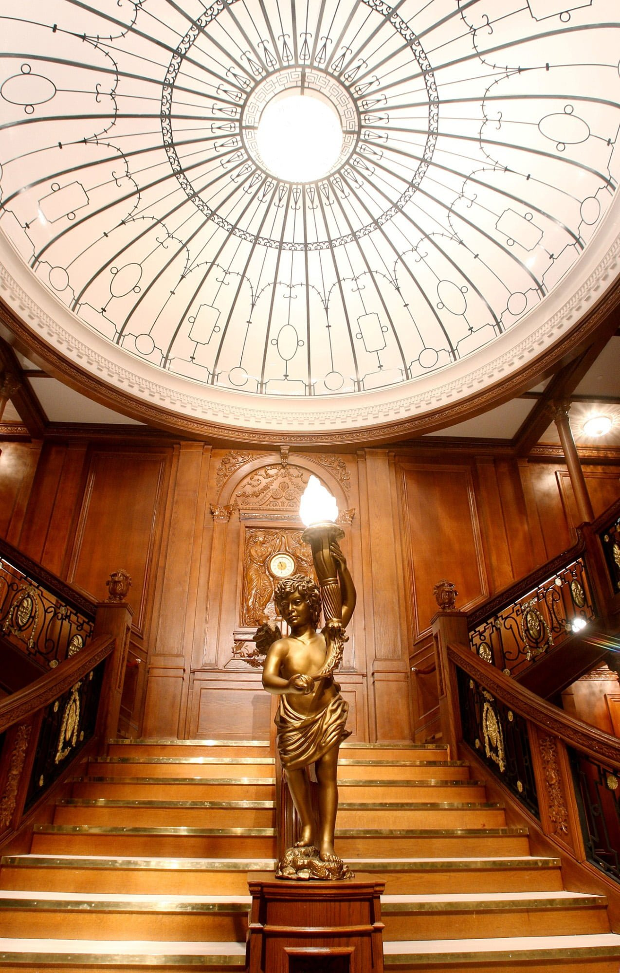 Titanic at Luxor's Grand Staircase