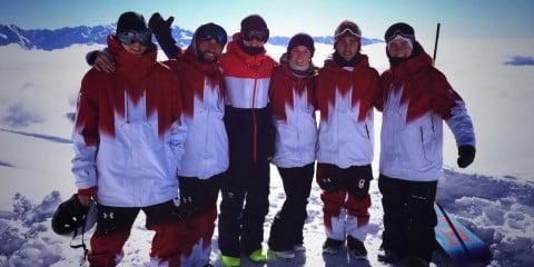 Canadian Team - Sochi Olympics