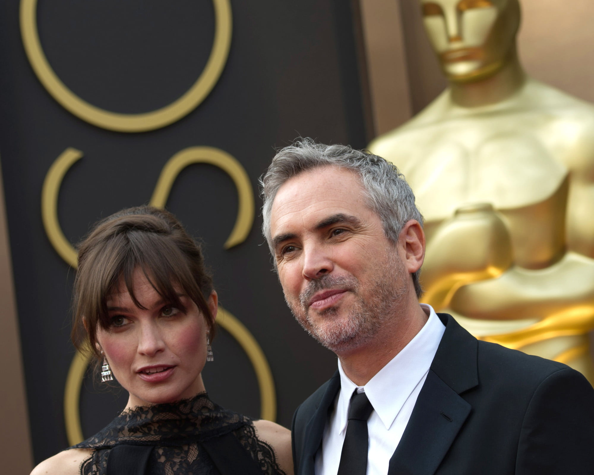 Sheherezade Goldsmith and Alfonso Cuaron