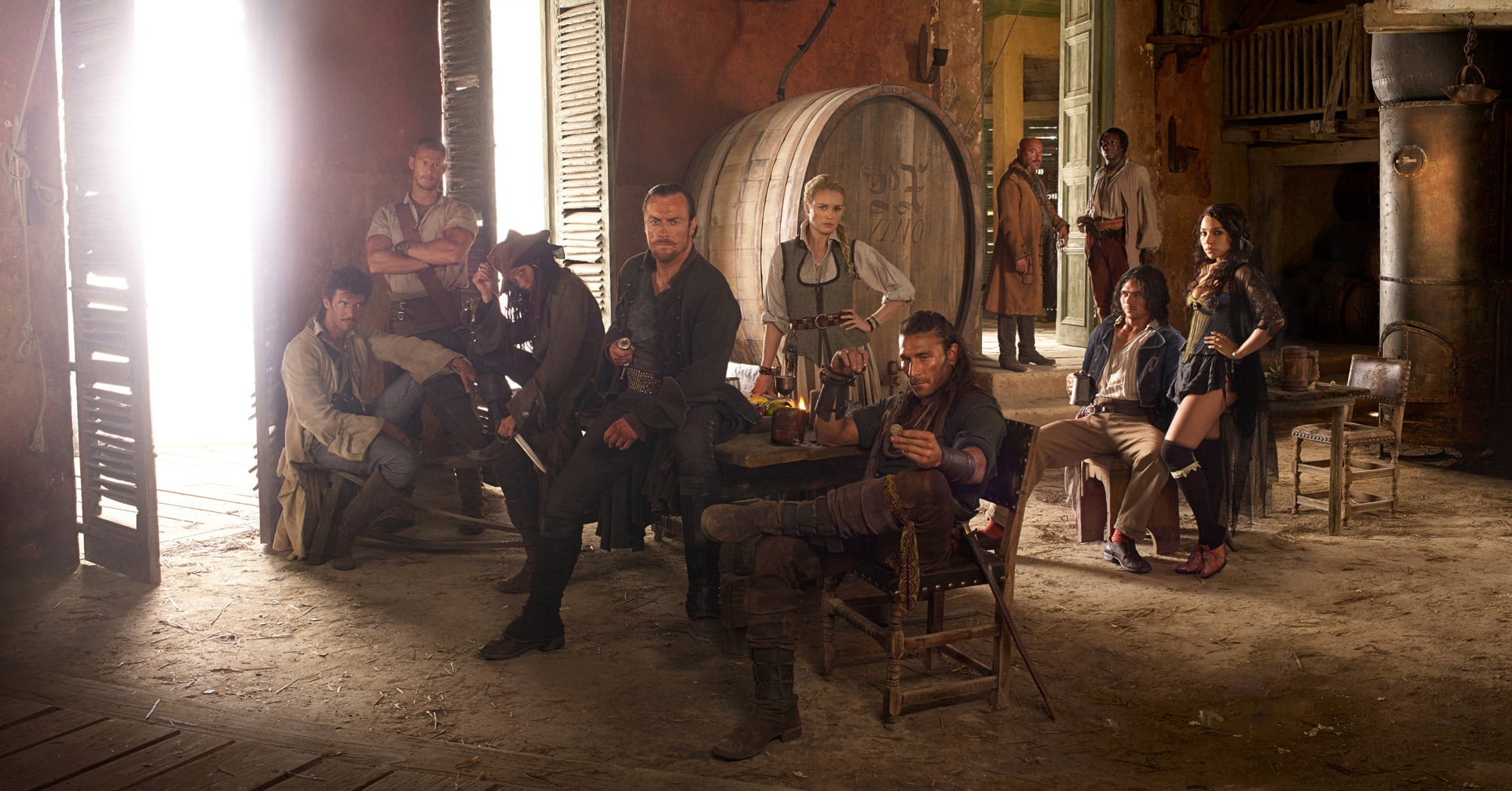 Cast of Black Sails