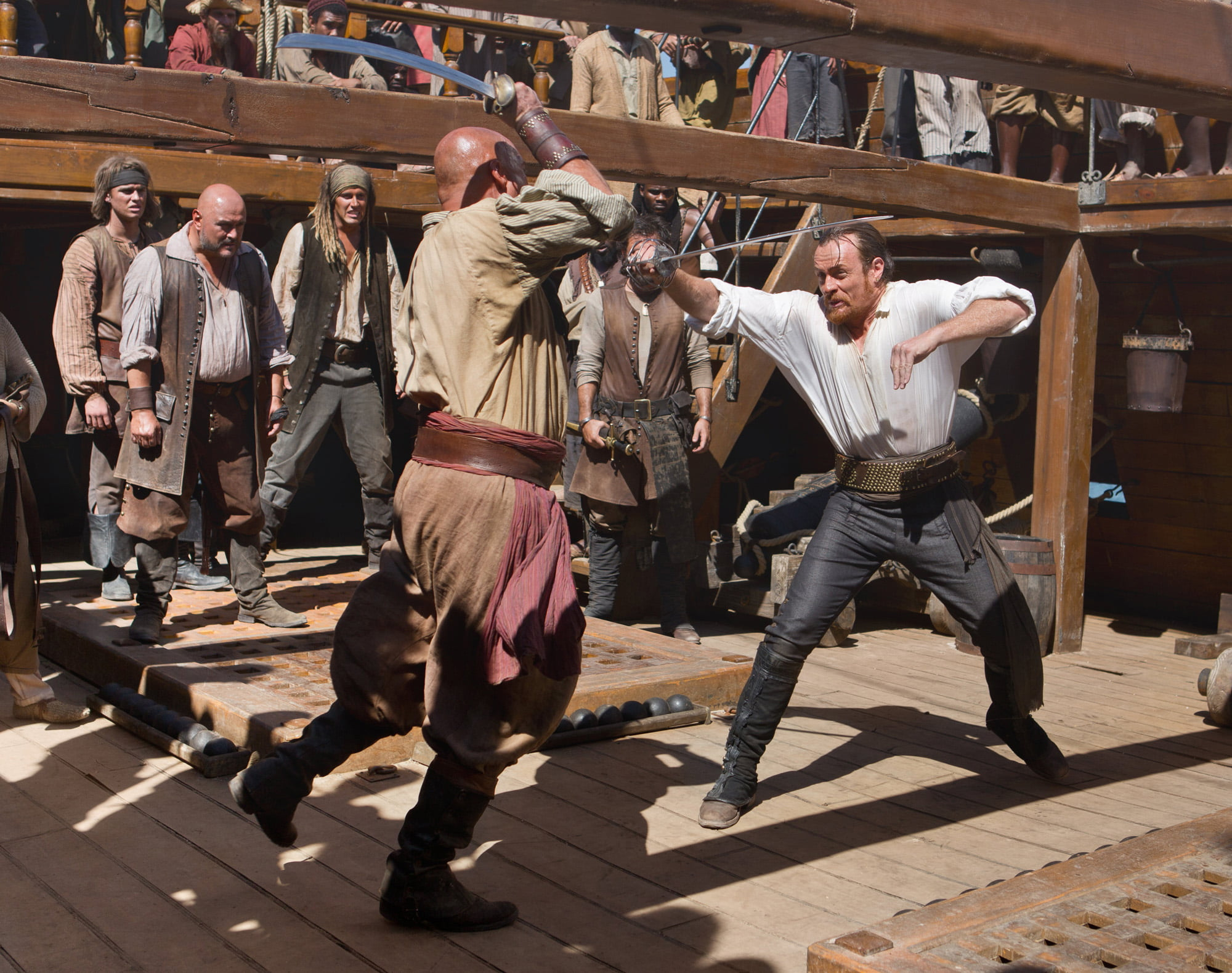 Scene from Black Sails