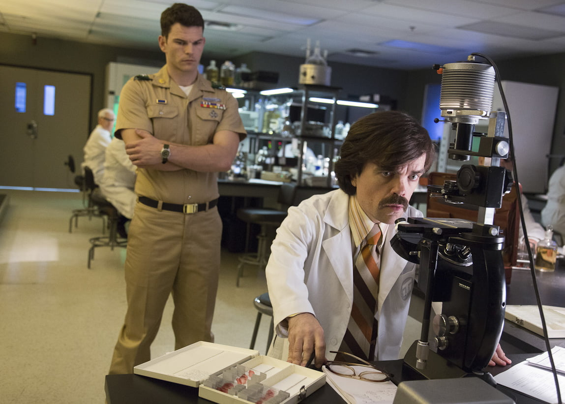 Peter Dinklage as Dr. Trask