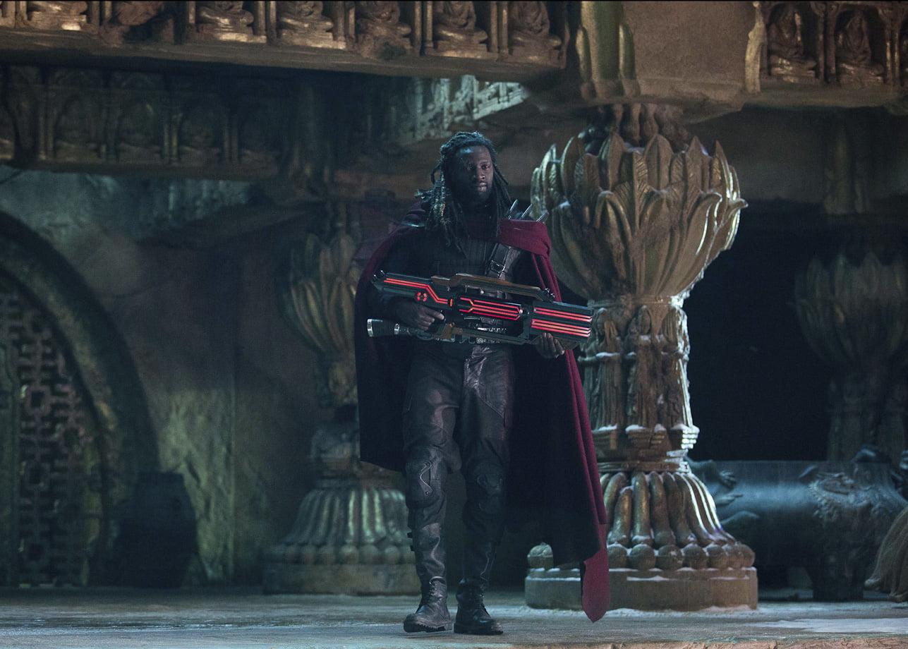 Omar Sy as Bishop