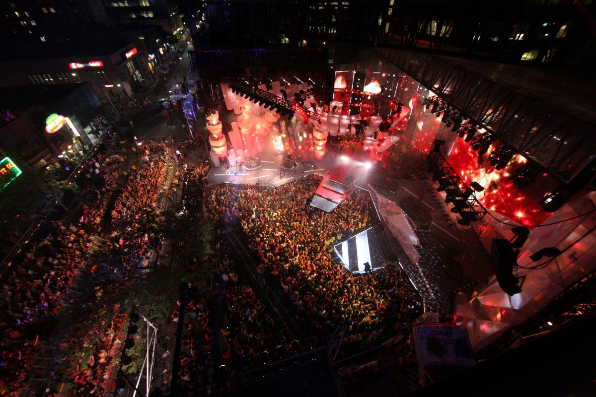 2012 MMVAs Stage