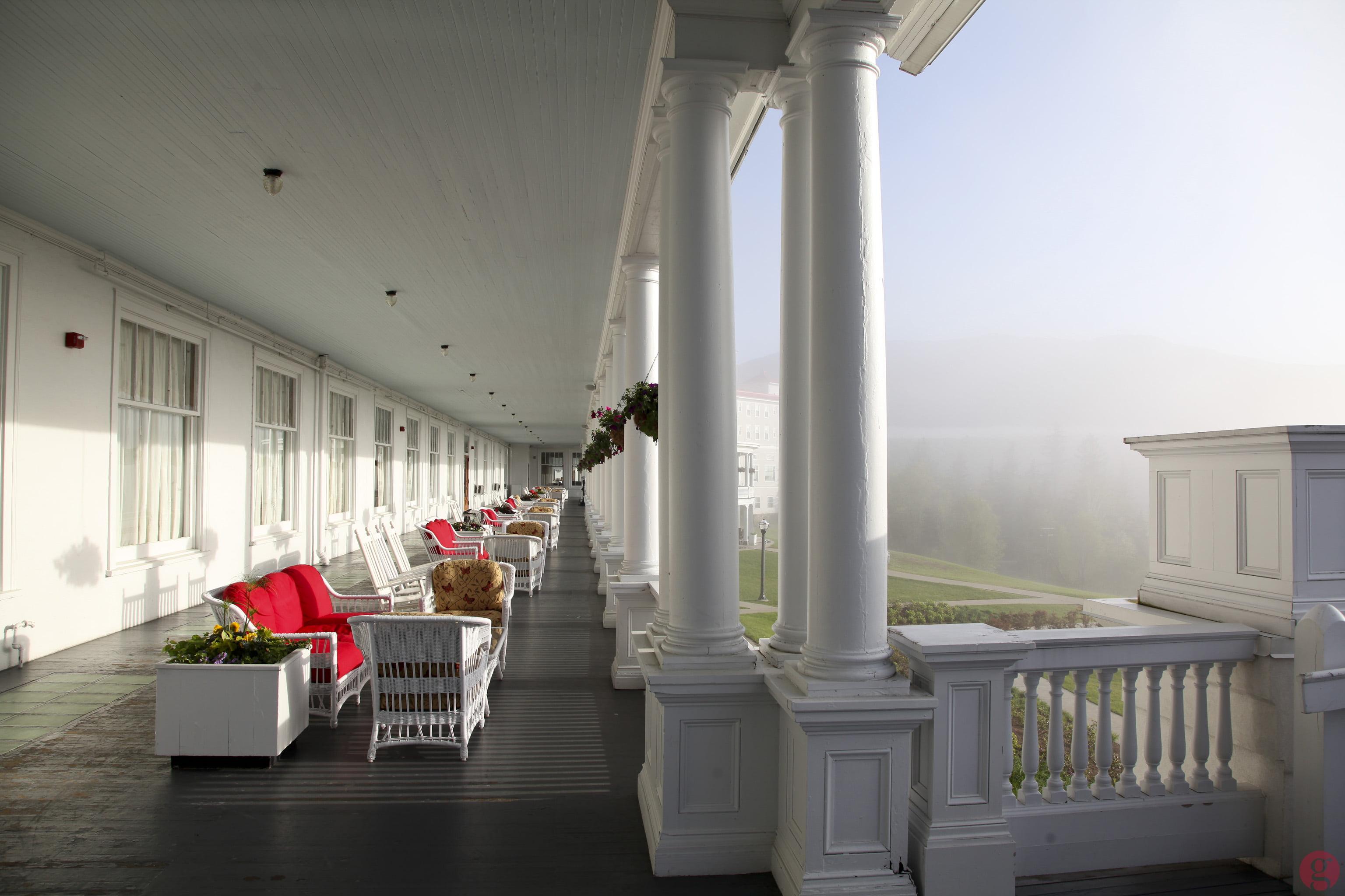 The back veranda