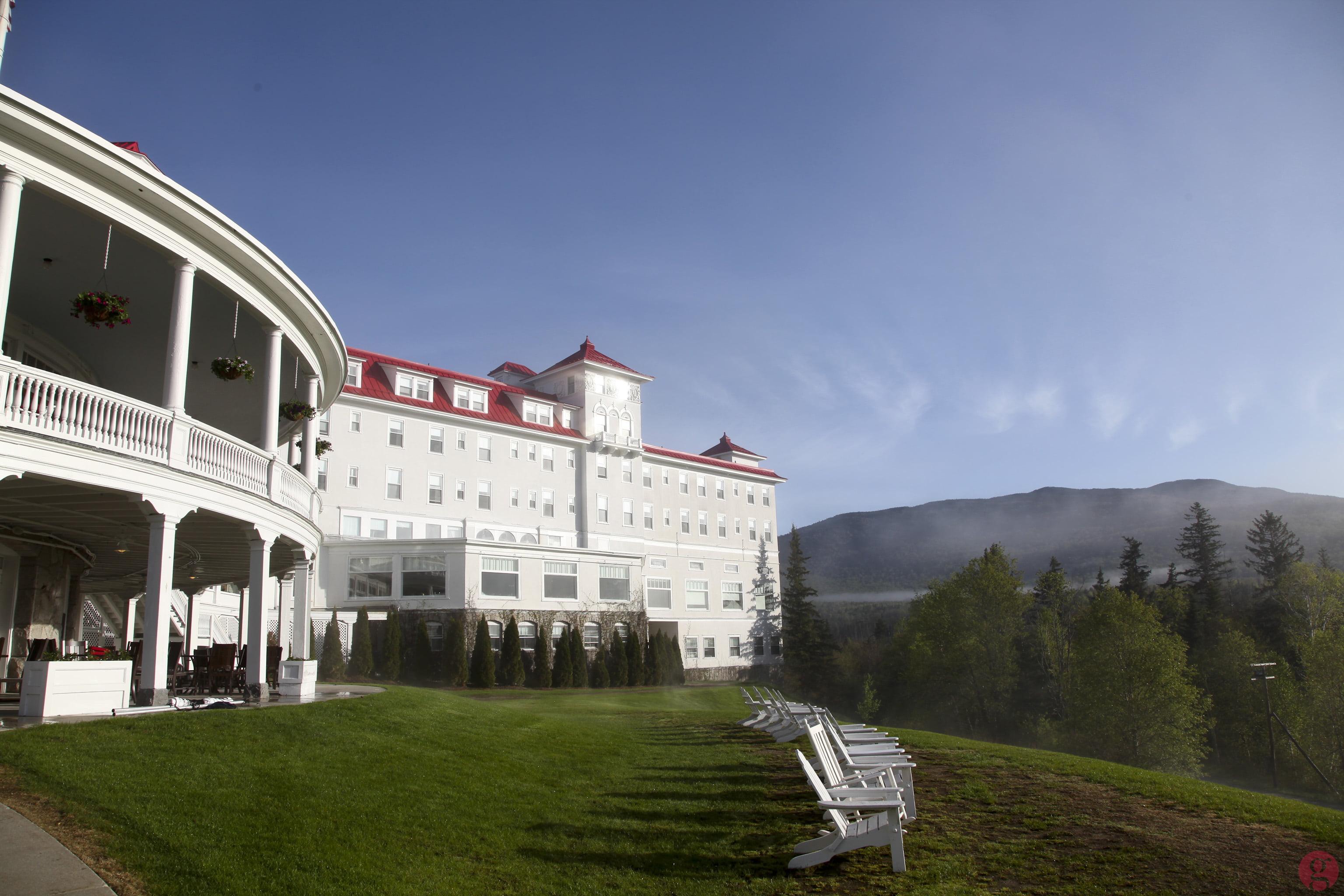 "The ""back yard"" of the Omni Mount Washington Resort"