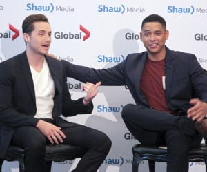 Chicago PD's Jesse Lee Soffer and Chicago Fire's Charlie Barnett