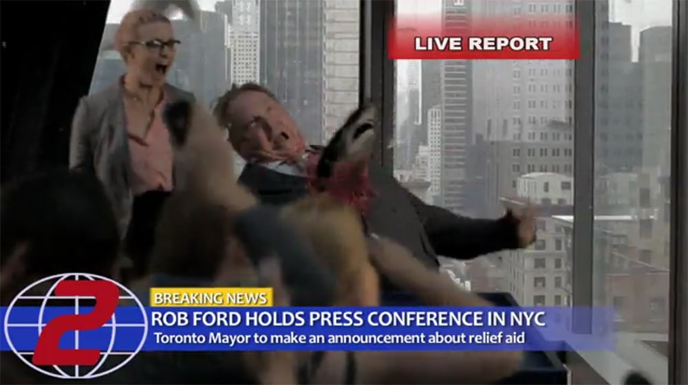Rob Ford in Sharknado 2