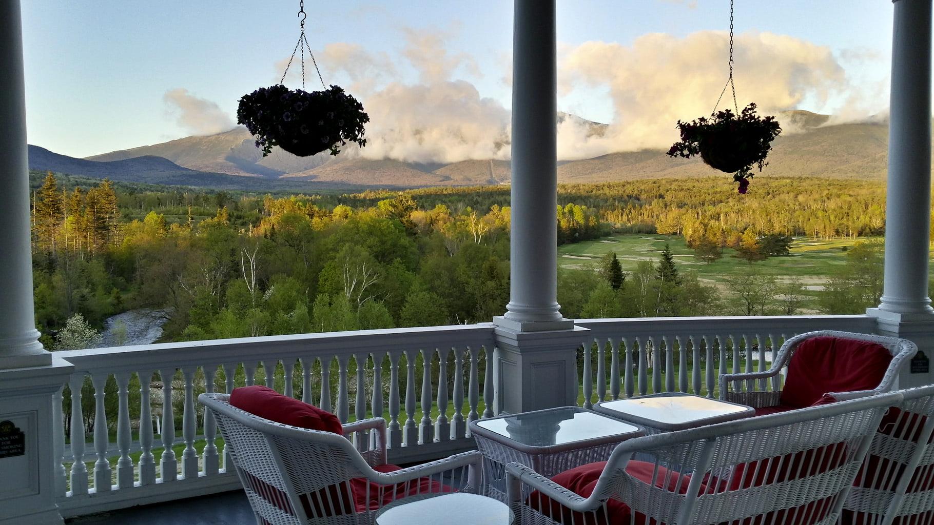View at Mount Washington Resort