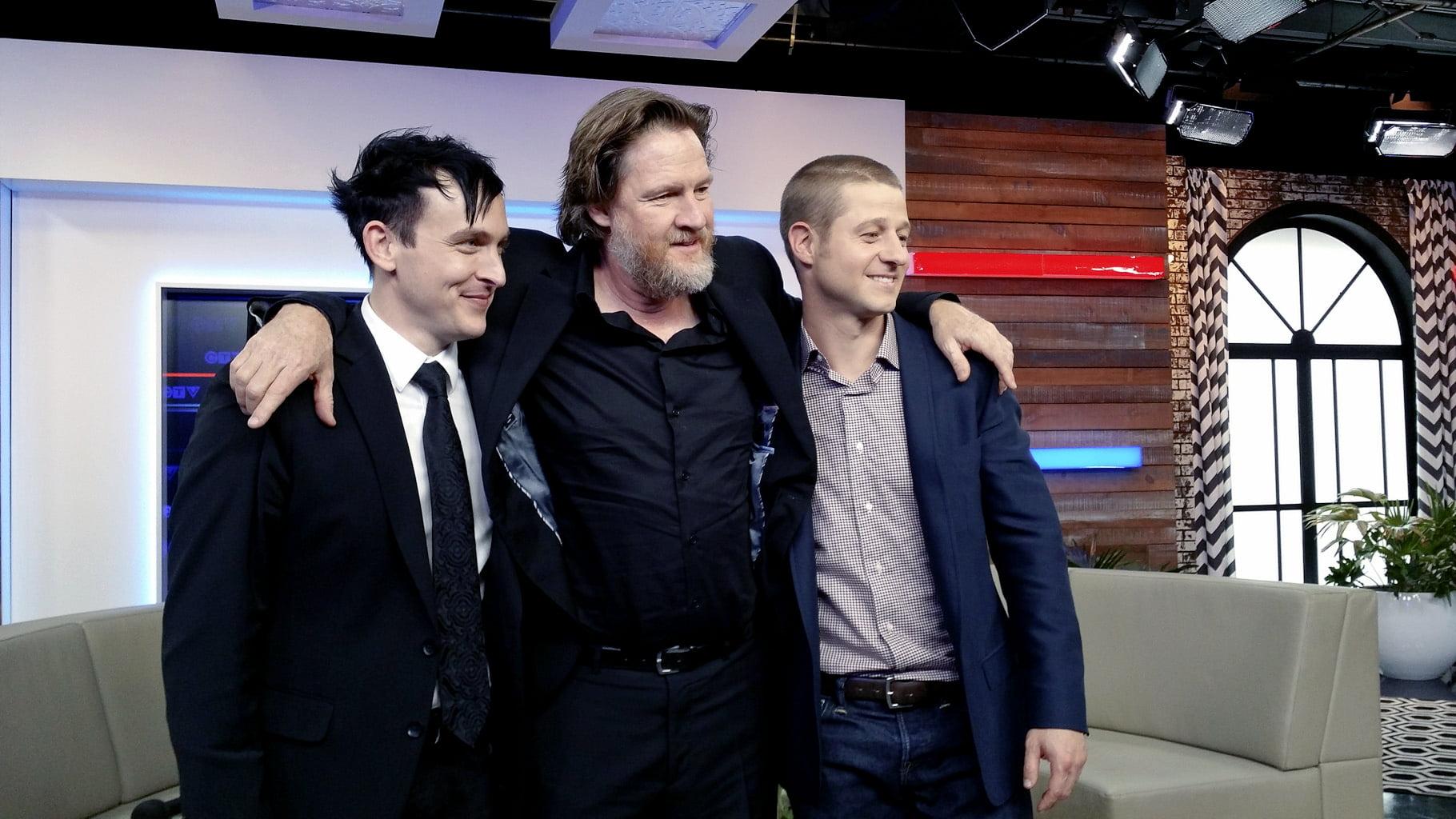 Robin Lord Taylor, Donal Logue & Ben McKenzie