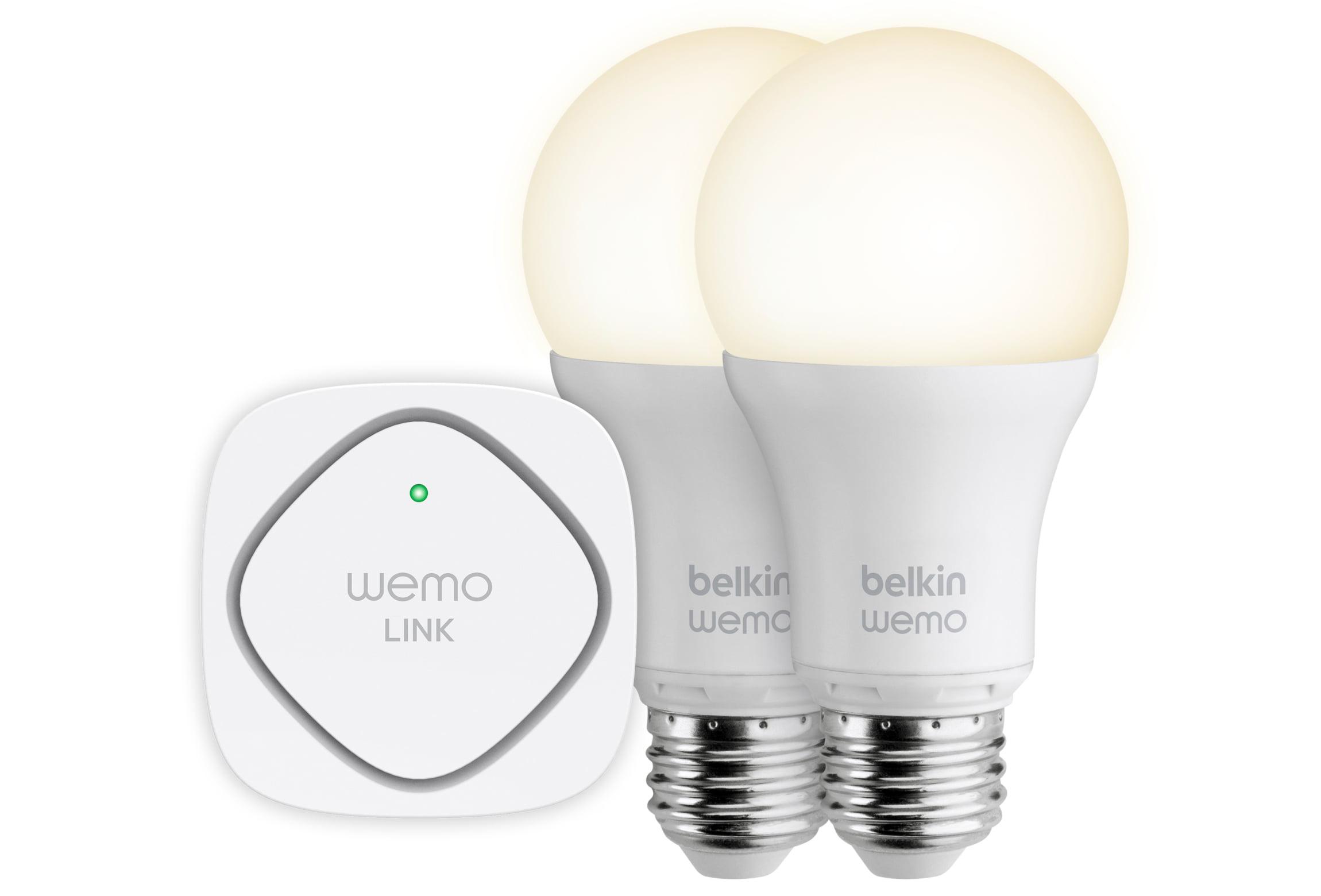 Belkin WeMo Smart LED Bulb Starter Kit
