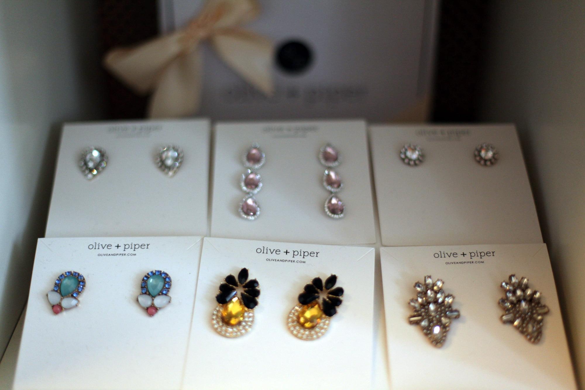 olive + piper earrings